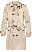 Burberry Prorsum Double-breasted Trench Coat - Lyst