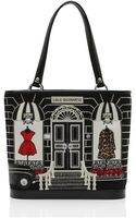 Lulu Guinness Black Medium Couture Shop Edith - Lyst