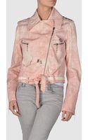 Just Cavalli Denim Outerwear - Lyst