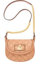 Marc Jacobs Quilted Noho Saddle Bag - Lyst