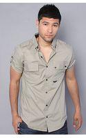 Comune The Douglas Buttondown Shirt in Stone - Lyst