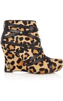 House Of Harlow Ava Leopard Calf Hair - Lyst