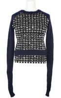 J.W. Anderson Plaited Cotton and Wool Blend Sweater - Lyst