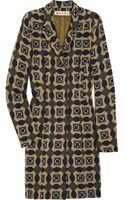 Marni Printed Wool Coat - Lyst