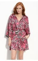 DKNY Floral Appeal Robe - Lyst