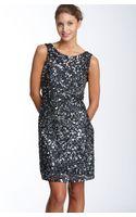 Pisarro Nights Drape Back Paillette Dress - Lyst