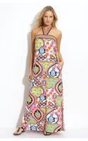 Trina Turk Long Cover-up Dress - Lyst