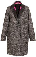 Balenciaga Oversized Virgin Wool-blend Coat - Lyst