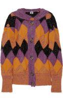M Missoni Chunky-knit Hooded Cardigan - Lyst