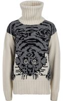 Joseph Tiger Knit Sweater - Lyst