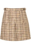 Topshop Boucle Patch Pocket Skirt - Lyst