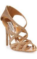 Badgley Mischka Junebug Strappy Sandals - Lyst
