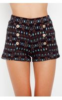 Nasty Gal Nordic Tap Shorts - Lyst