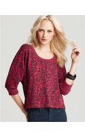 Splendid Leopard-print Pullover - Lyst