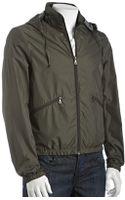 Prada Sport Military Nylon Windbreaker Jacket - Lyst