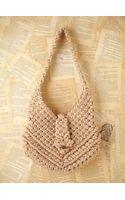 Free People Vintage Macrame Boho Bag - Lyst
