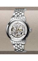 Emporio Armani Automatic Skeleton Bracelet Watch - Lyst