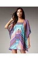 Missoni Cannes Zigzag Coverup - Lyst