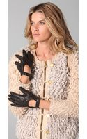 Rag & Bone The Quilted Driving Gloves - Lyst