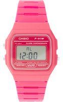 Casio Casio Classic Pink Watch - Lyst