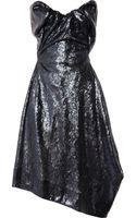 Vivienne Westwood Gold Label Paper Bag Sequined Satin Dress - Lyst