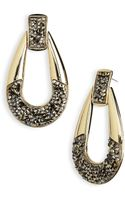 Belle Noel Crystal Statement Earrings - Lyst