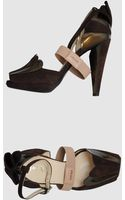 Prada Pumps with Open Toe - Lyst