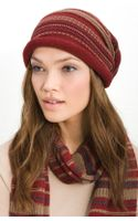 Tarnish Folk Knit Slouchy Cap - Lyst