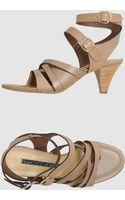 Francesco Morichetti High Heeled Sandals - Lyst
