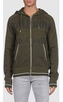 John Galliano Hooded Sweatshirts - Lyst