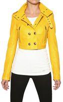 Burberry Holmbridge Nappa Short Leather Jacket - Lyst