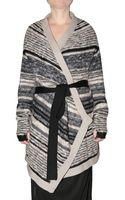 Dagmar Heavy Striped Wool Knit Sweater - Lyst