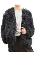 Damir Doma Mongolian Fur Coat - Lyst