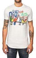 DSquared2 Cotton Jersey Parrots T-shirt - Lyst