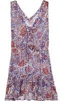 Seventh Wonderland Belle Fille Silk-jersey Dress - Lyst