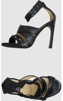C'n'c' Costume National Platform Sandals - Lyst