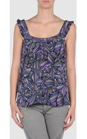 Marc By Marc Jacobs Top - Lyst