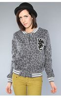 Wesc The Laika Fleece Jacket in Dark Shadow - Lyst