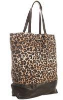 Rebecca Minkoff Leopard Print Denim Toki Tote Bag - Lyst