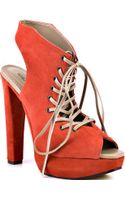 Michael Antonio Studio Malka - Coral Suede Leather - Lyst
