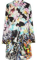 Mary Katrantzou Printed Silk-georgette Dress - Lyst
