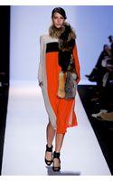 BCBGMAXAZRIA Midi Dress Joon Long Sleeve - Lyst