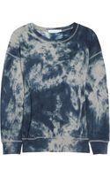 Etoile Isabel Marant Walter Tie-dye Cotton Sweatshirt - Lyst