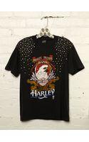 Free People Vintage Studded Harley Tee - Lyst