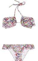 Zimmermann Memoir Ruffled Underwired Bikini - Lyst