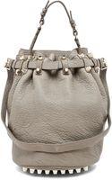 Alexander Wang Diego Bucket Bag in Granite - Lyst