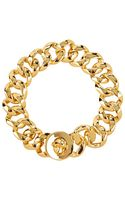 Marc By Marc Jacobs Turnlock Small Katie Bracelet - Lyst