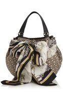 DKNY Town and Country Scarf Bucket Bag - Lyst
