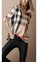 Burberry Brit Relaxed Fit Check Shirt - Lyst