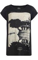 AllSaints Temple T-shirt - Lyst